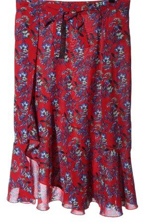 Sweewe Asymmetry Skirt allover print casual look