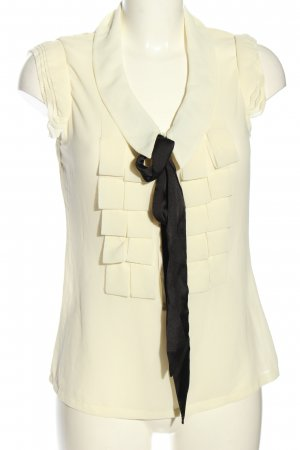 Sweewe Blouse Top cream-black business style