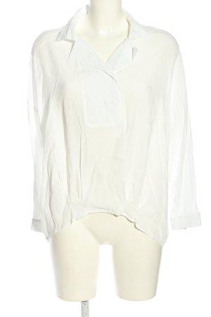 Sweewe Langarm-Bluse weiß Casual-Look