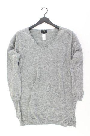 Sweewe Długi sweter srebrny Poliester