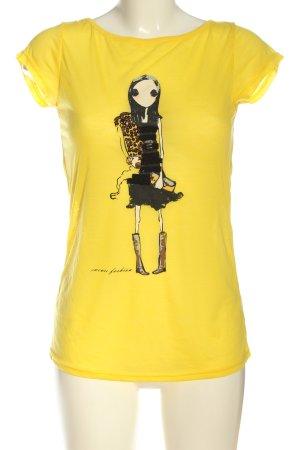Sweewe Print Shirt primrose-black themed print casual look