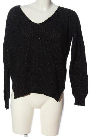 Sweewe Crewneck Sweater black casual look