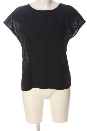 Sweewe Lace Blouse black elegant