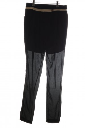 Sweewe Stoffhose schwarz extravaganter Stil