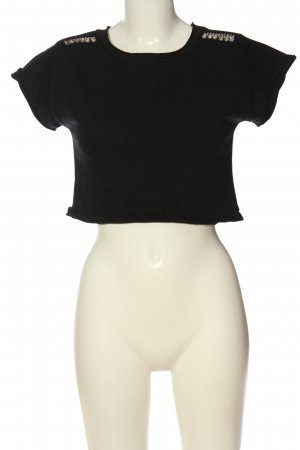 Sweewe Knitted Jumper black casual look