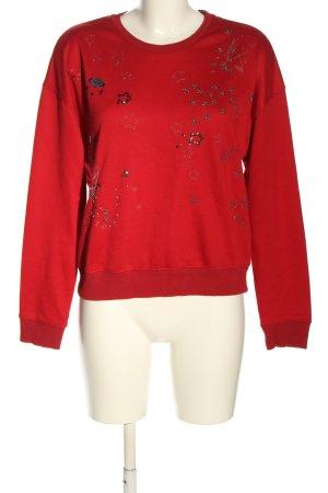 Sweewe Felpa rosso stile casual