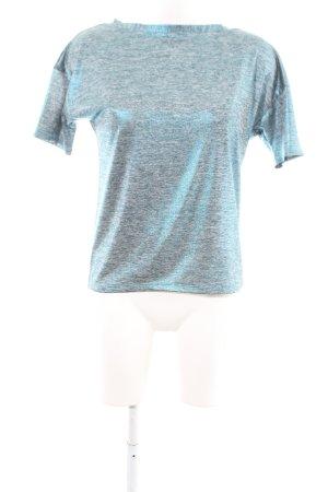 Sweewe T-Shirt blau meliert Casual-Look