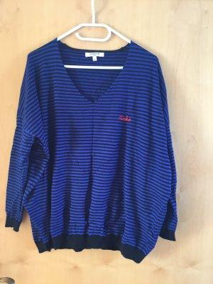 Sweewe Oversized Sweater dark blue-black