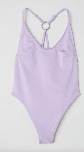 H&M Maillot de bain violet-lilas