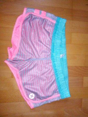 Hurley Bañador de hombre rosa neón-turquesa
