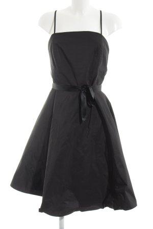Swing A-Linien Kleid schwarz Party-Look