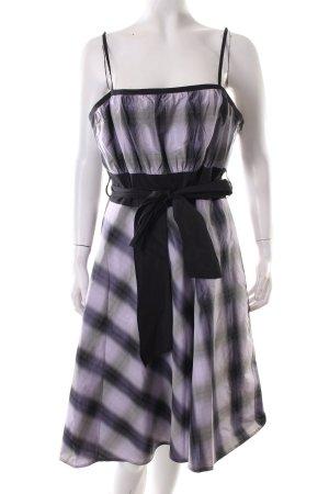 Swing A-Linien Kleid Karomuster extravaganter Stil