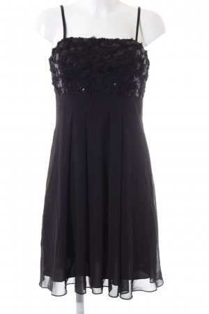 Swing A Line Dress black elegant