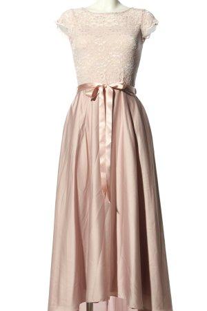 Swing Abendkleid pink-creme Webmuster Elegant