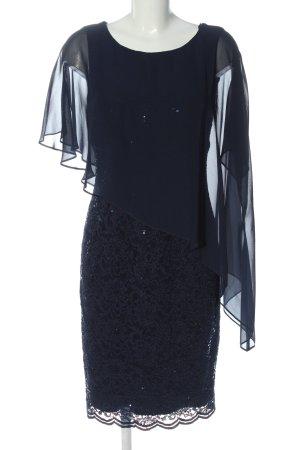 Swing Abendkleid blau Elegant