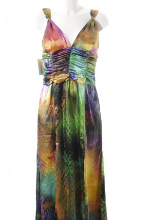 Swing Abendkleid mehrfarbig extravaganter Stil