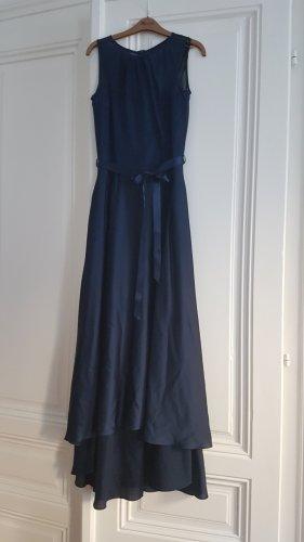 Swing Robe de bal bleu-bleu foncé polyester