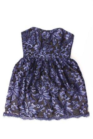 Swing Bandeau Dress blue-neon blue-dark blue-azure polyester