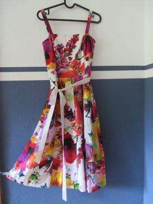Swing Blumen Kleid 36