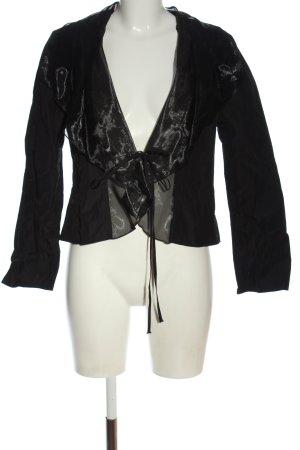 Swing Blouse Jacket black casual look