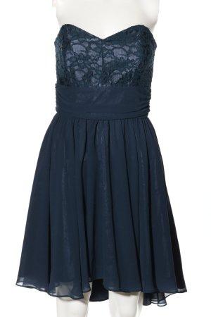 Swing Bustier Dress blue elegant