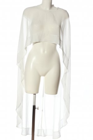 Swing Cape white casual look