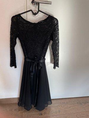 Swing Cocktail Kleid Größe 32 schwarz