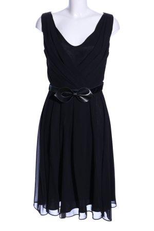 Swing Cocktailkleid schwarz Elegant
