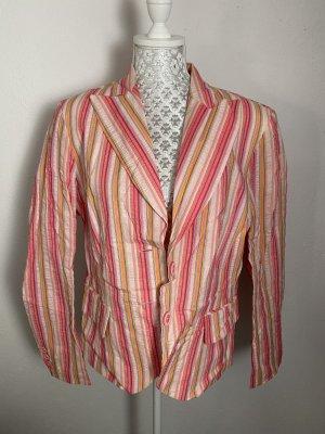 Swing Klassischer Blazer nude-neon pink mixture fibre