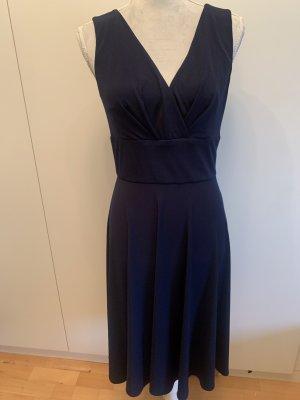 Swing Midi Dress dark blue
