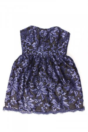 Swing Kleid blau Größe 38