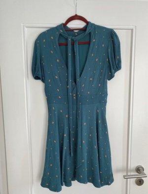 Free People Sukienka typu babydoll chabrowy-brzoskwiniowy