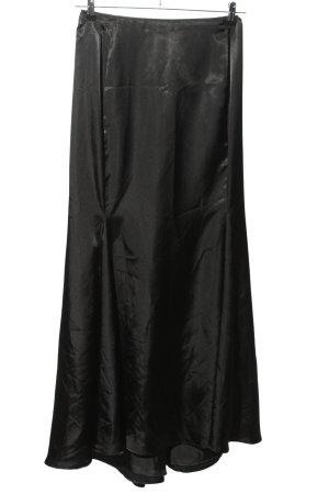 Swing Maxi Skirt black elegant