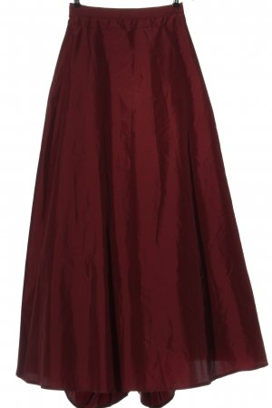 Swing Maxi Skirt red casual look