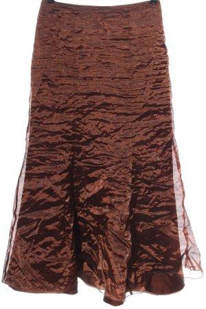Swing Midirock bronzefarben Elegant