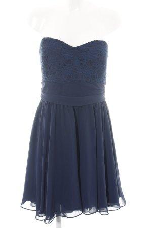 Swing Minikleid blau Elegant