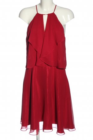 Swing Minikleid rot Elegant