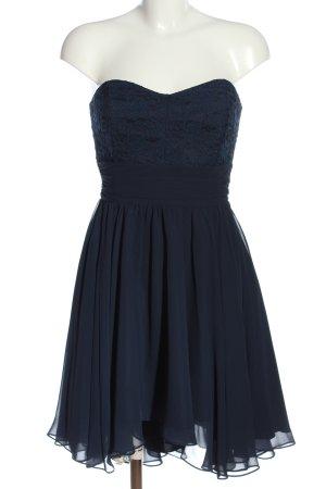 Swing Off-The-Shoulder Dress blue elegant