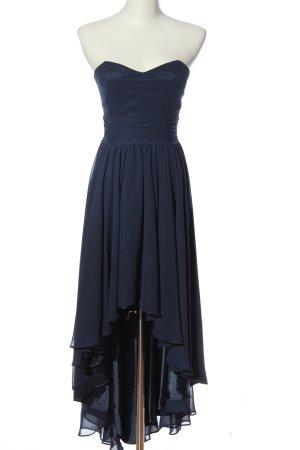 Swing schulterfreies Kleid blau Elegant