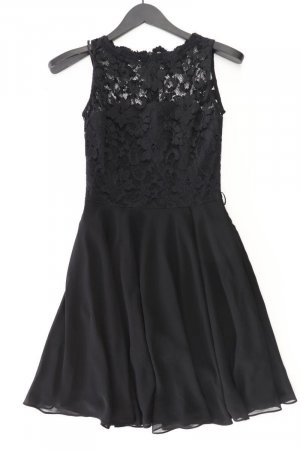 Swing Spitzenkleid Größe 36 Ärmellos schwarz aus Polyester