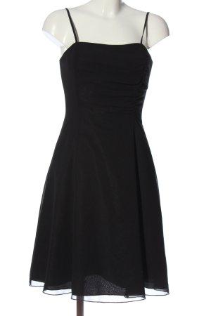 Swing Trägerkleid schwarz Elegant