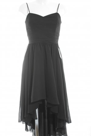 Swing High Low Dress black polyester