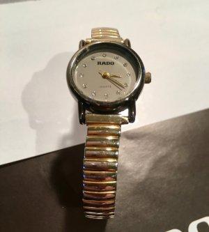 Rado Horloge met metalen riempje zilver-zwart Metaal