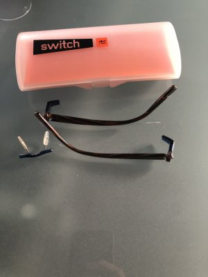 Switch it , Brillenbügel , Wechselbügel
