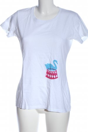 Switcher Print-Shirt Motivdruck Casual-Look