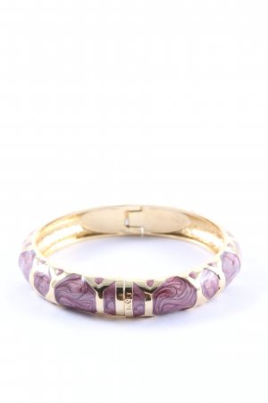 SYL Bangle lila-goud casual uitstraling