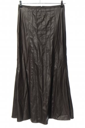 Sylvia Heise Taffeta Skirt black casual look
