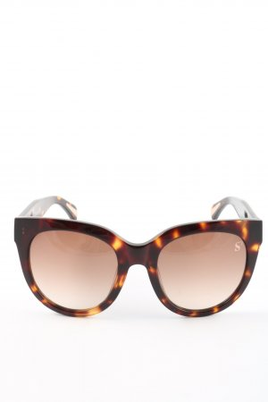 Sylvie Optics Gafas mariposa marrón-naranja claro look casual