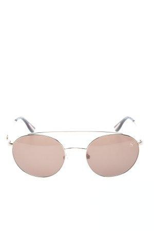 Sylvie Optics ovale Sonnenbrille