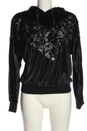 T.A.T.U. Kapuzensweatshirt schwarz Casual-Look